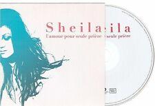SHEILA l'amour pour seule priere CD PROMO