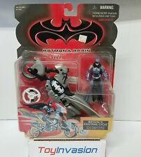 Kenner 1997 Batman and Robin Batgirl Ice Strike Cycle Collectible Action Figure