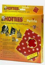 Petlife Hotties Microwavable Pets Heat Pad - Red Polka Dot Size 21Cm X 23Cm
