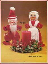 Mr & Mrs Claus Yarn Dolls - Craft Books: Make Yours a Crafty Christmas III
