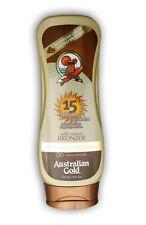Australian Gold/SPF 15 Sunscreen Lotion with Bronzer/Sonnenschutz/Sonnencreme