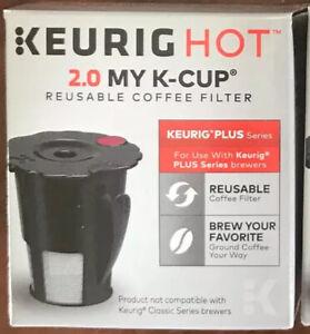 NEW - Keurig Plus Series HOT 2.0 MY K-CUP Reusable Coffee Filter