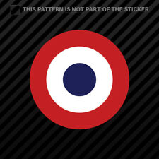 French Air Force Roundel Sticker Self Adhesive Vinyl CDAOA France FRA FR