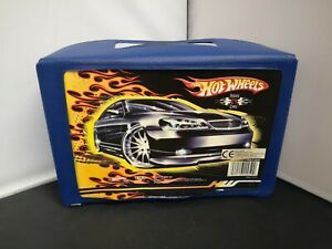 M19-HOT WHEELS CAR CARRY CASE WITH TWO TRAYS FOR 24 CARS