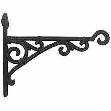 Home Decorative Cast Iron Wall Mount Bracket Primitive Brown Garden Outdoor Diy
