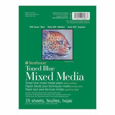 Strathmore Toned Mixed Media Pad 6x8 Blue