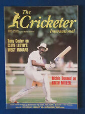The Cricketer International Magazine - June 1984 - Clive Lloyd Cover