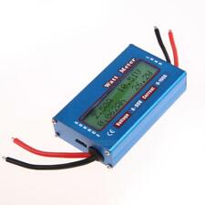 UN3F Simple DC Power Analyser Watt  Volt Amp Meter 12V 24V Solar Wind Analyzer