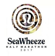 Lululemon Seawheeze 2017 Half Marathon Bib Race Entry - NO SHORTS