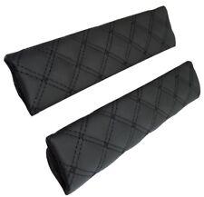 Par de almohadillas proteger funda acolchado para cinturón de seguridad de coche