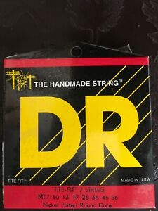 DR Strings MT7 Tite Fit 7-String Electric Guitar Strings 10-56 NEW FREE SHiPPING