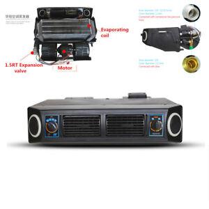 Car 12V A/C 32 Pass Coil Underdash Evaporator Compressor Air Conditioner 3 Speed