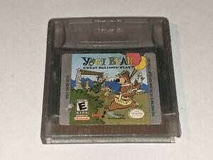 YOGI BEAR: GREAT BALLOON BLAST Nintendo Game Boy Color GBC Video Game Cartridge