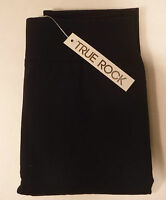 True Rock Women's Winter Fleece Leggings Stretch Pants Black One Size FREE SHIP!