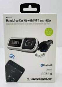 Scosche BTFMSR-SP1 Bluetooth FM Transmitter handsfree USB port
