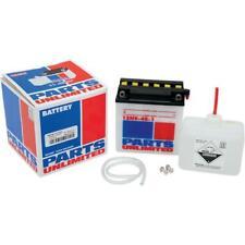 Parts Unlimited Suzuki 1973-1985 6N4B-2A 6 Volt Battery Kit with Acid 2113-0123