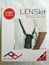 Sony E / FE-Mount Lens Kit LK-S-1 Peak Design For Camera   - Free Shipping -