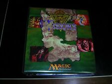 MAGIC THE GATHERING VISIONS SET WITH ULTRA PRO VISIONS BINDER MTG COMPLETE