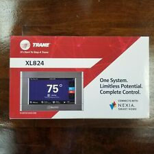 """Trane XL824, 4.3"""" Color Touch Screen WiFi Thermostat NEW IN BOX! TCONT824AS52DB"""