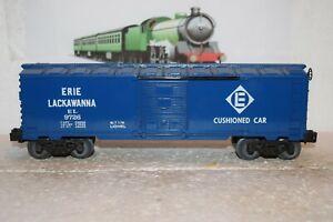 O Scale Trains Lionel Erie Lackawanna Box Car 9726
