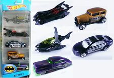 2015 Batman 5-Pack. CDT28. Joker, Penguin, Police. Batmobile, Copter New in Box.