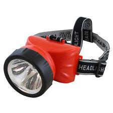 Torcia Luce Lampada LED-722A Led 1W Testa Ricaricabile Escursioni Campeggio moc