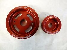 OBX Racing Red Overdrive Pulley For Toyota Celica GT Corolla Matrix xR MRS