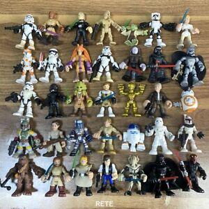 Random 5x Playskool Star Wars Imperial Galactic Heroes Trooper Pilot Figures Toy