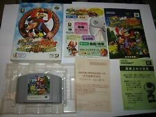 Banjo to Kazooie no Daibouken 1 Nintendo 64 N64 Japan Boxed Complete US Seller
