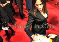 Foto Autografo Maria Grazia Cucinotta Signed Asta di beneficenza Charity Cinema