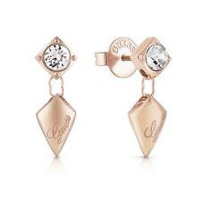 Guess UBE29099 Women's Matelasse Drop Stud Earrings