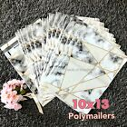 20 Designer Poly Mailers 10X13 Shipping Envelopes Bags Snake Chic Marble Stone