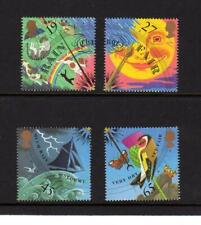2001 GB THE WEATHER MNH Stamp Set Thermochromic Ink Barometer Dial SG 2197-2200