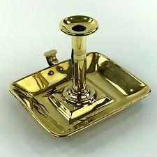 Victorian Brass Chamber Candlestick