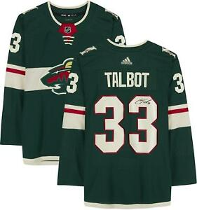 Autographed Cam Talbot Oilers Jersey Fanatics Authentic COA Item#11005848