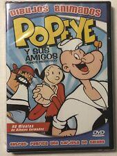 Factory Sealed Dvd,Popeye Y Sus Amigos, Popeye Patriotico,Dibujos Animados, 2013