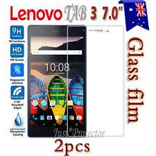 2x Lenovo Tab 3 7.0 A7-10 Tempered Glass / Plastic Screen Protector Film Guard