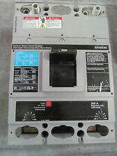 Siemens Sentron Jxd62B300 Circuit Breaker 300 Amp 600 V 2 Pole