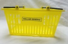 Kids Dollar General Store Shopping Basket Plastic Pretend Food Play Toy