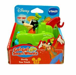 Disney Vtech Go! Go! Smart Wheels Goofy Town Truck Smart Point Interaction - NIP