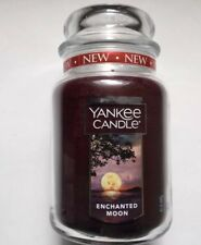 YANKEE CANDLE ENCHANTED MOON 22 oz LARGE JAR NEW SCENT AUTUMN FALL 2018
