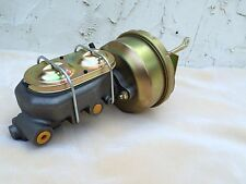 "55 56 57 Chevy 7"" brake booster & master cylinder w/firewall brackets & rod"