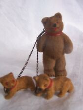 VINTAGE WEST GERMANY TEDDY AND CUBS