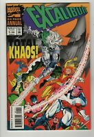 Excalibur 64 Page Annual # 1 (1993 Marvel) Total Khaos! VF/NM