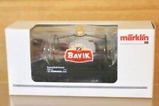 MARKLIN MäRKLIN B004 SONDERMODELL SNCB BAVIK GLASS KESSELWAGEN TANK WAGON