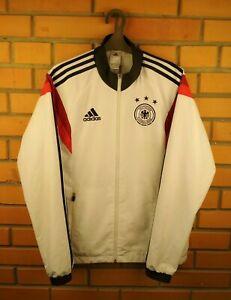 Germany Jacket Size SMALL Full Zip Football Adidas Soccer