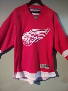 Detroit Red Wings RBK Official Licensed Jersey. New with tags. Size Large