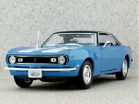 CHEVROLET Camaro Z/28 - 1968 - bluemetallic - Maisto 1:18