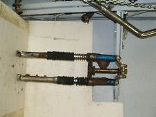 1968 Yamaha YR2 Front forks and triple clamps.