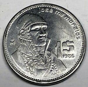 # C6392     MEXICO   COIN,     PESO    1985